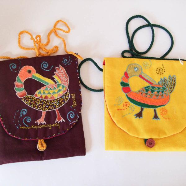 Evening Bag - Senofu bird