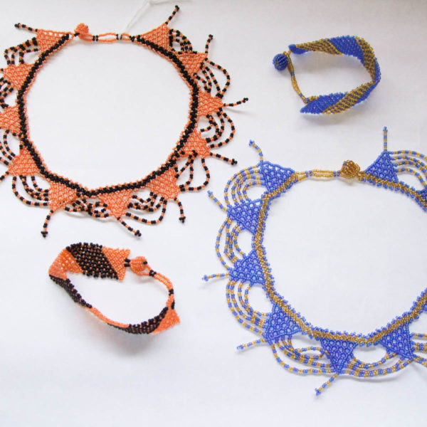Necklace and Bracelet - Pattern set