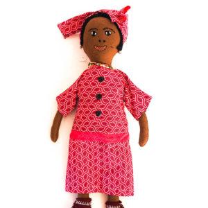 Traditional doll – Tswana