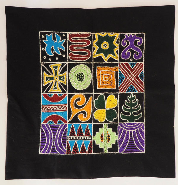 Cushion cover African symbols