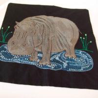 Cushion cover Elephant