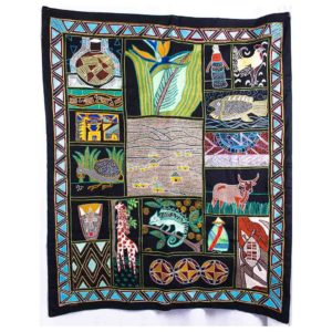 Wall hanging – African images