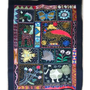 Wall hanging – African creatures