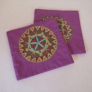 Pot Holders (Pair) Mandala Pattern