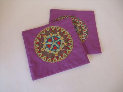 Pot Holders (Pair) Mandala Pattern