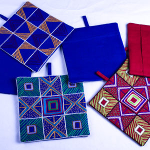 Pot Holders (Pair) Pattern  Squares