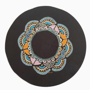 Circular Placemat - Flower Round Petals