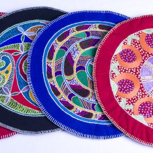 Circular Placemat with Mandala