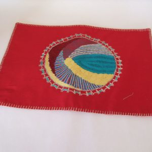 Rectangular Placemats - Round Mandala