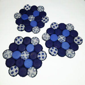 Trivet Coasters - Hexagonal - set of 6