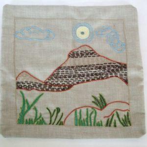 Cushion Cover - Mountain Square