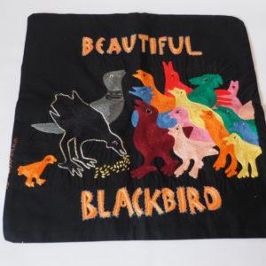 Cushion Cover - Blackbird