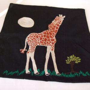 Cushion Cover - Giraffe