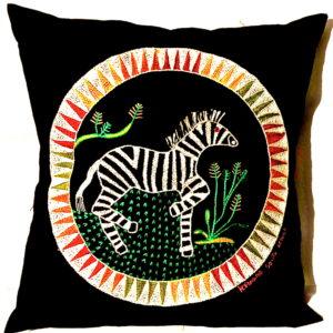 Cushion Cover - Zebra