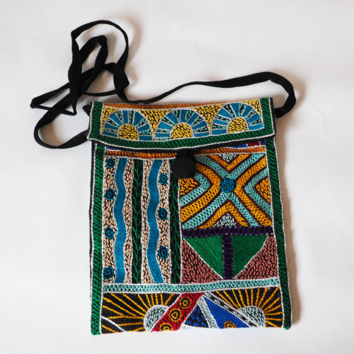 Fully Embroidered Bag