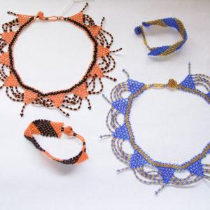 Necklace & Bracelet - Pattern Set
