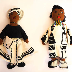 Traditional Doll - Daughter - Tswana