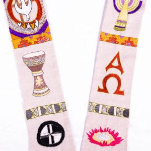 Sacred Symbols Stole