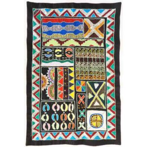 Wall Hanging - Ndebele Patterns